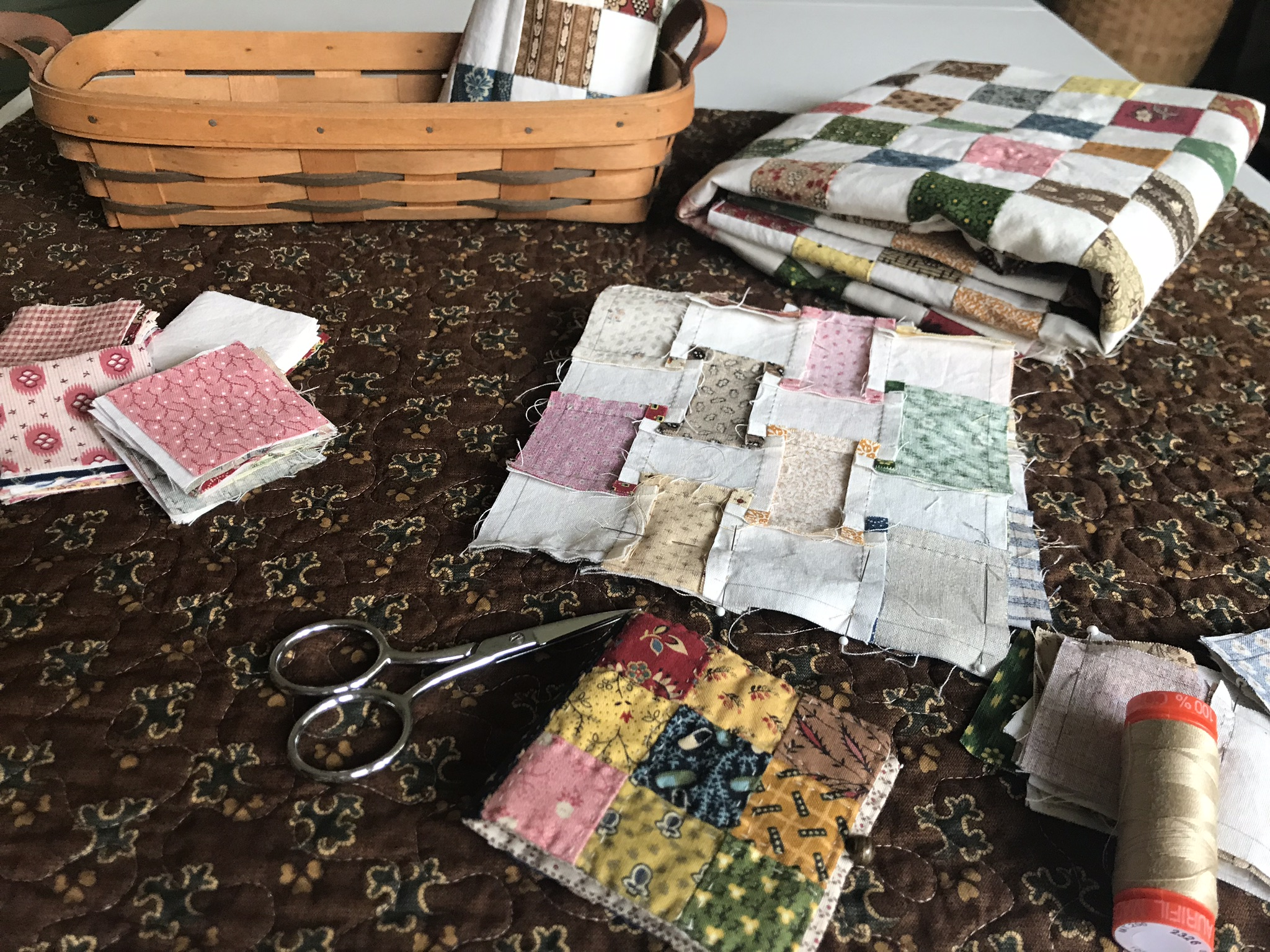 Sew much to do; sew little time